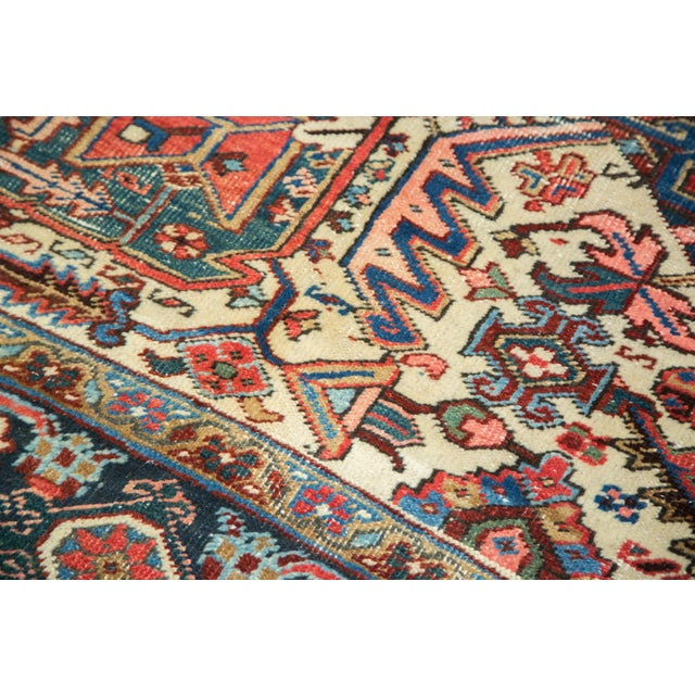 "Vintage Distressed Heriz Carpet - 8'11"" X 11'10"" - Image 4 of 10"