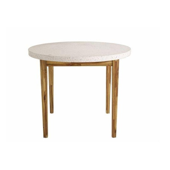 Kenneth Ludwig Chicago Kenneth Ludwig Terrazzo Bistro Table For Sale - Image 4 of 4