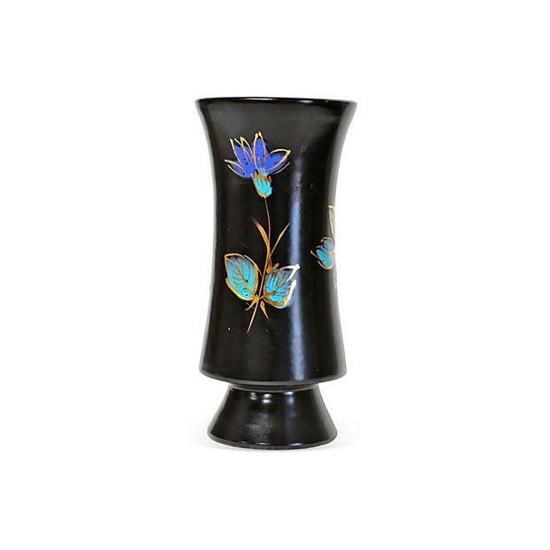 Italian Mid-Century Ceramic Vase For Sale - Image 4 of 5