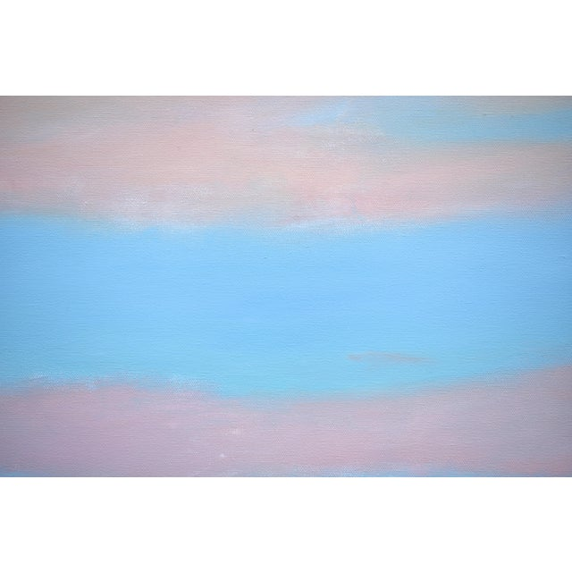 """2010s Modern """"Layered Clouds"""" Contemporary Painting by Stephen Remick For Sale - Image 5 of 11"""
