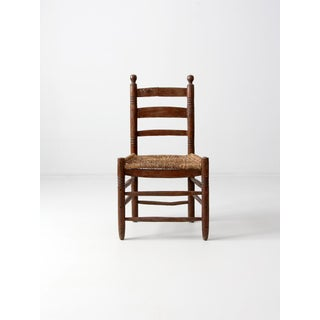 Antique Mexicana Rush Seat Chair Preview