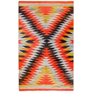 Striking Early 20th Century Navajo Rug For Sale