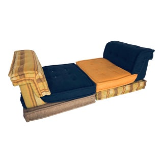 "1970s Vintage Hans Hopfer ""Le Mah Jong"" Sectional Sofa for Roche Bobois - 6 Piece For Sale"