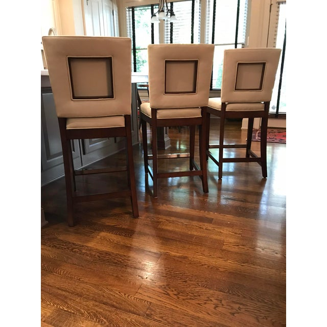 American Classical Vanguard Juliet Counter Stools - Set of 3 For Sale In Atlanta - Image 6 of 8