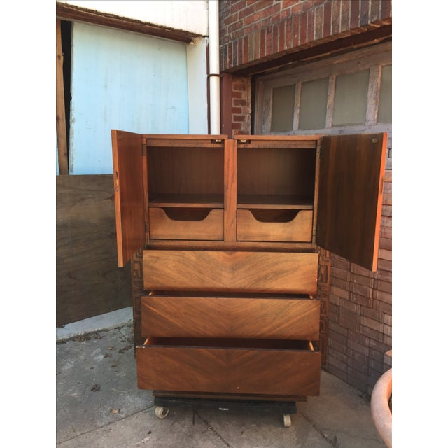 Brutalist Armoire by United Furniture - Image 4 of 7