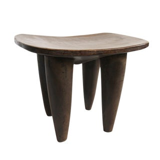 African Carved Wood Senufo Stool