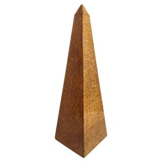 Large Goatskin Porphyry Obelisk For Sale