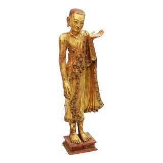 Burmese Wooden Apostle For Sale