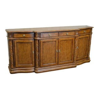 "Drexel Heritage Palm Court 90"" Long Oceanfront Buffet Credenza Sideboard For Sale"