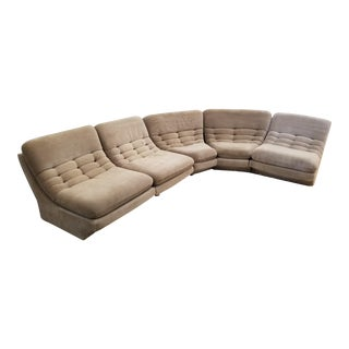 5 Piece Preview Vladimir Kagan Sectional Sofa