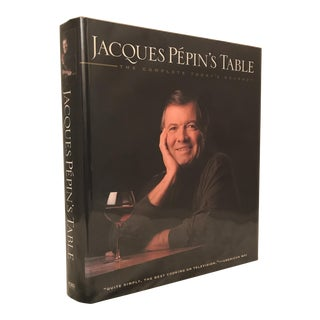 "1995 ""Jacques Pepin's Table"" First Edition Cookbook For Sale"