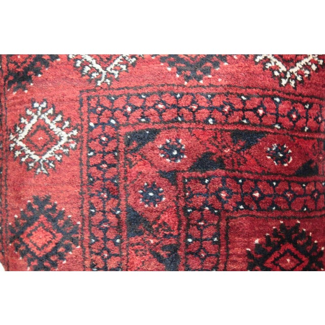 Home Decor Vintage Carpet Pillow For Sale In Baltimore - Image 6 of 9