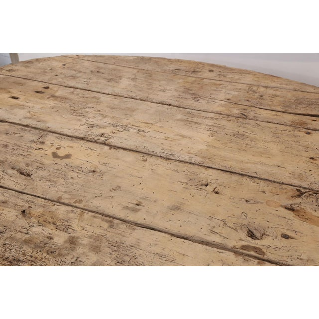 French Unusually Large Early Vendange Table For Sale - Image 3 of 13