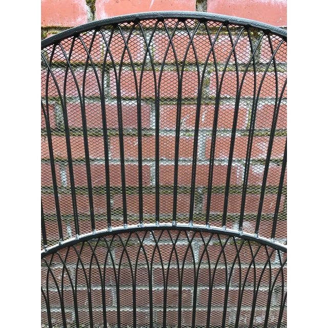 Black Iron Fireplace Screen - Image 3 of 5