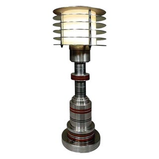 Machine Age Table Lamp by Walter von Nessen For Sale