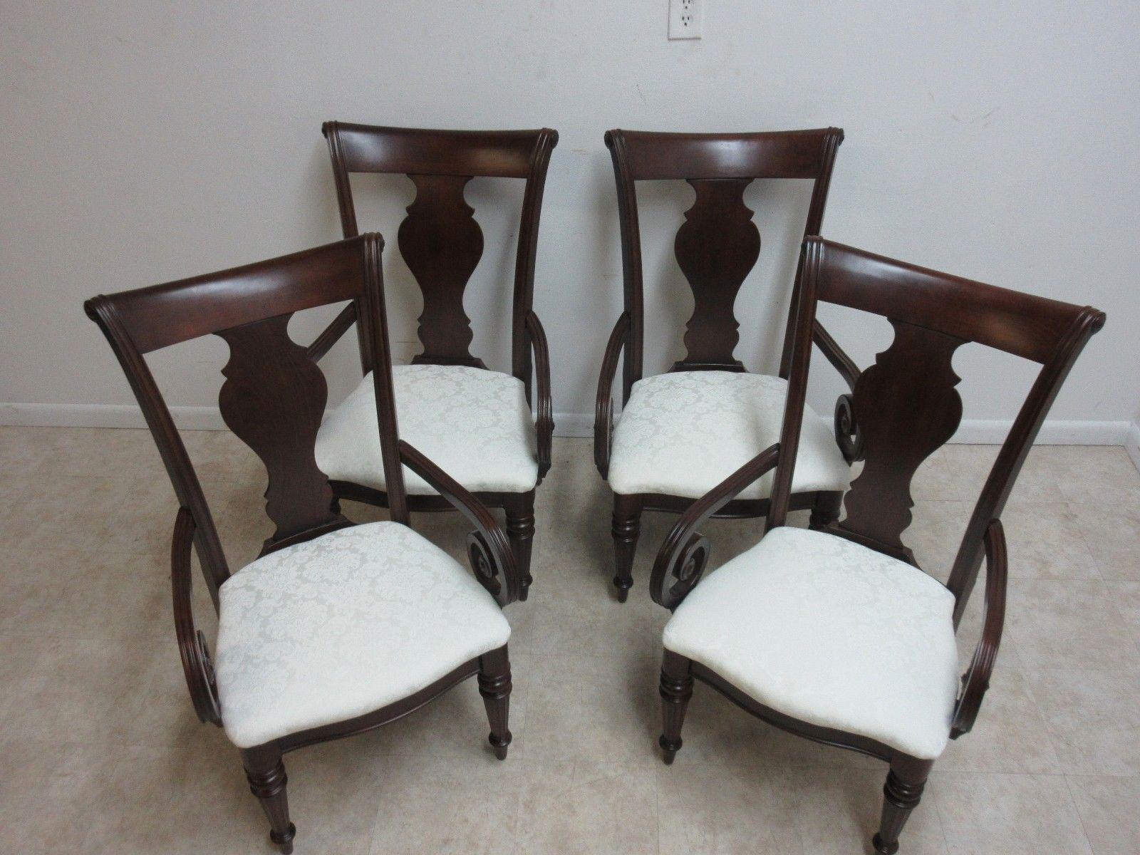 Pennsylvania House Pennsylvania House Cherry Admiral Cortland Manor Dining  Chairs   Set Of 4 For Sale
