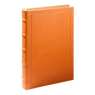 Small Hardcover Journal, Calfskin in British Tan For Sale