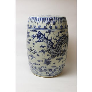 Chinese Blue and White Ceramic Garden Stool Preview