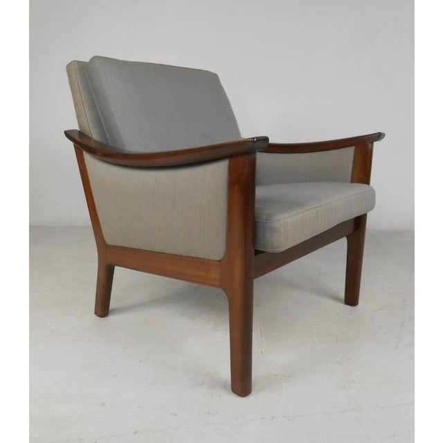 Rosewood Mid-century Ole Wanscher Style Living Room Suite For Sale - Image 7 of 10