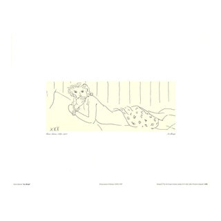 Henri Matisse, Lying Naked, Offset Lithograph, 1997 For Sale