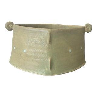 Postmodern Studio Pottery Vessel For Sale