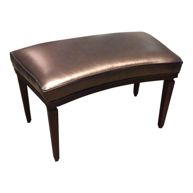 Hickory Chair Rembrandt Curved Bench For Sale