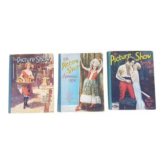 Set of Three Old 1930's Movie Star Books For Sale