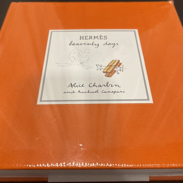 Abrams Hermès Heavenly Days Book by Alice Charbin. New and shrink wrapped.