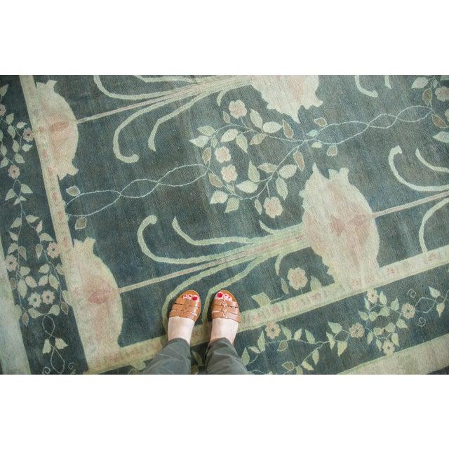 """Vintage Indo Donegal Carpet - 8'8"""" x 11'9"""" - Image 3 of 9"""