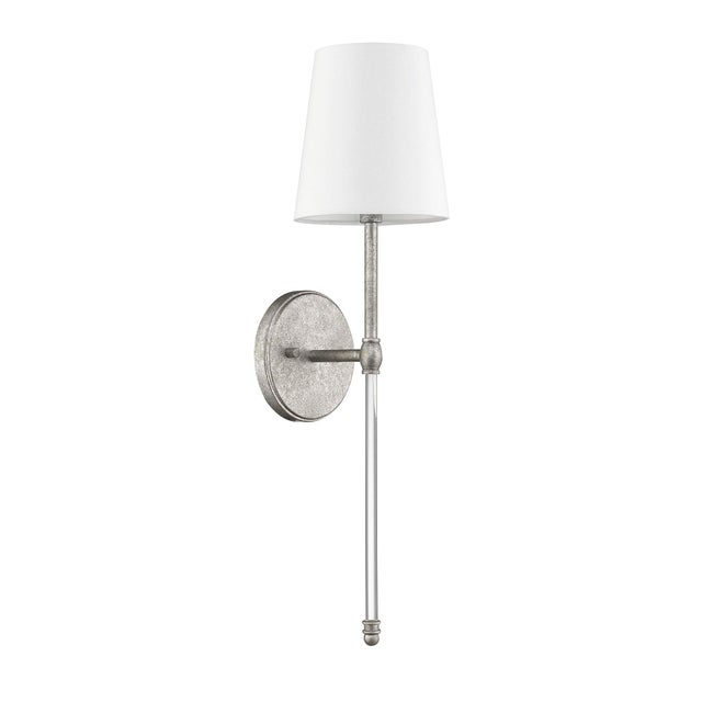 Transitional The Quatrefoil 1 Light Sconce, As For Sale - Image 3 of 3