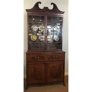 18th Century George III Bookcase Secretary Preview