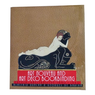 "1960s Vintage ""Art Nouveau and Art Deco Book Binding"" Book For Sale"