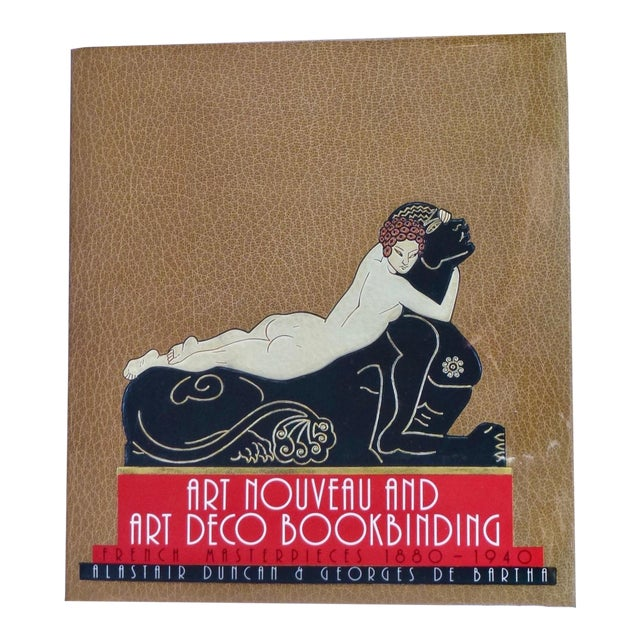 "1960s Vintage ""Art Nouveau and Art Deco Book Binding"" Book For Sale"