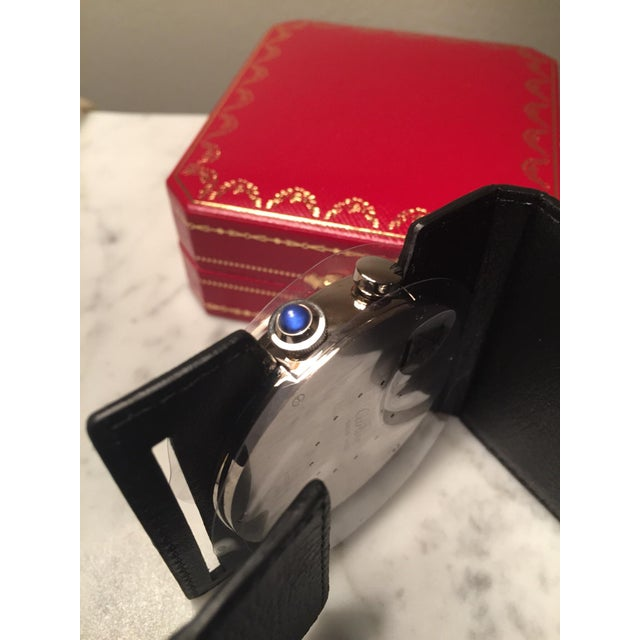 Cartier Travel Alarm Clock - Image 3 of 5
