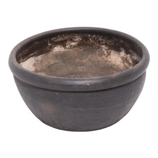 Chinese Black Clay Basin For Sale
