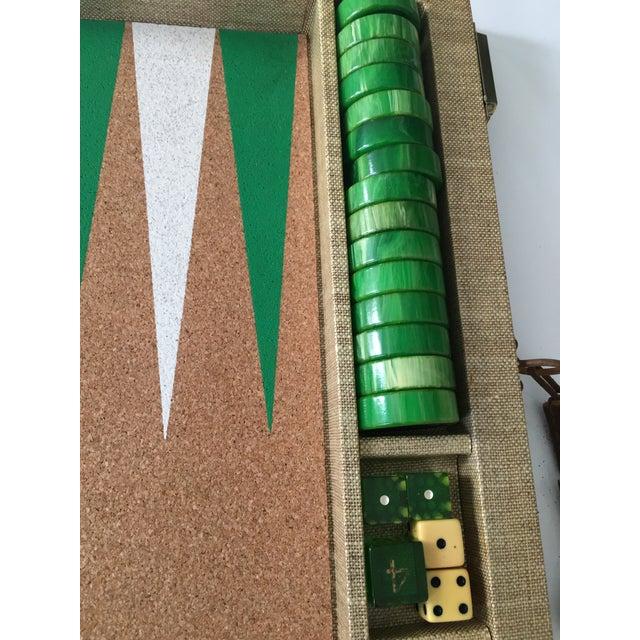 Vintage Backgammon Set - Image 3 of 8