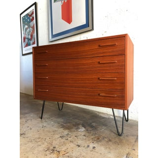 Vintage Mid-Century Danish Modern Compact Cabinet/ Chest of Drawers Preview