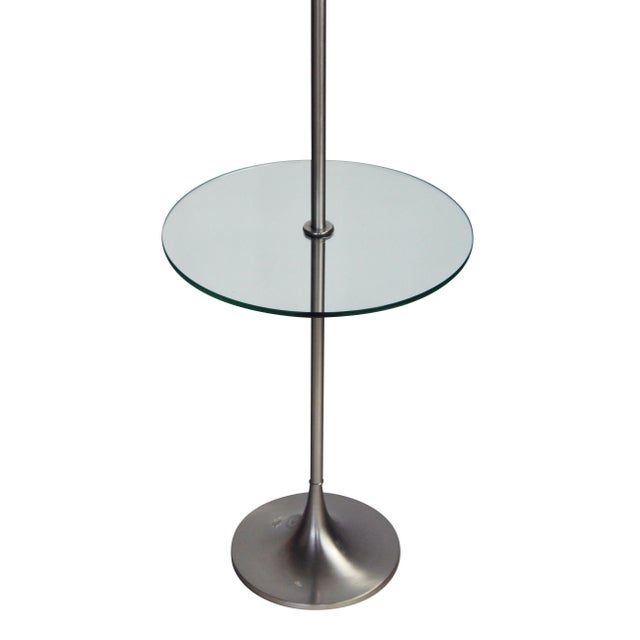 Laurel Lighting Inc. Laurel Tulip Floor Lamp in Silver For Sale - Image 4 of 7