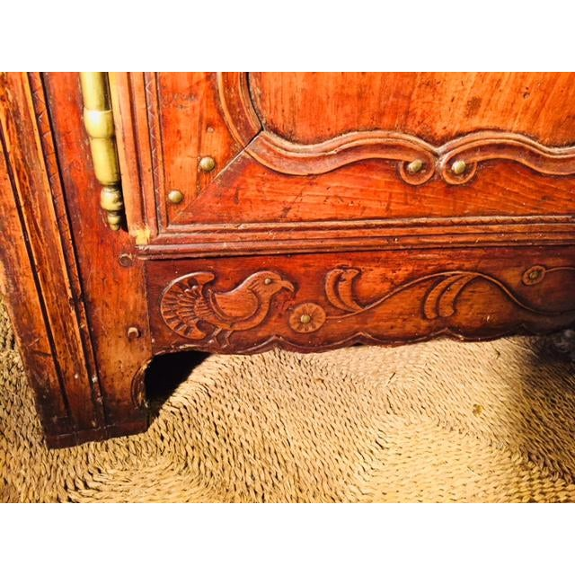 Late 19th Century 19th Century Hand Carved Walnut French Vaisselier For Sale - Image 5 of 13