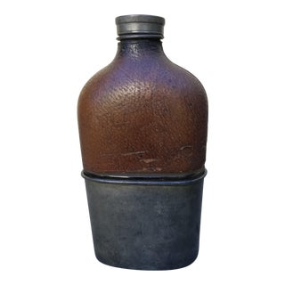 19th Century Edwrdian Liquer Flask For Sale