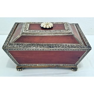 18c Anglo Indian Vizagapatam Casket - Exceptional and Rare Preview