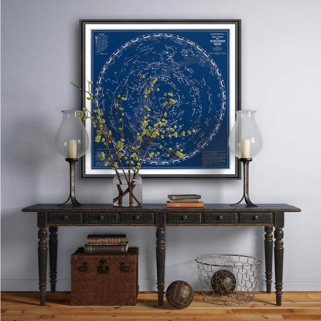 Not Yet Made - Made To Order Rand McNally Star Chart Northern Skies Print For Sale - Image 5 of 6
