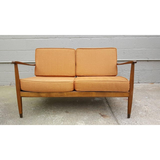Dux Classic Scandinavian Modern Sofa - Image 2 of 8