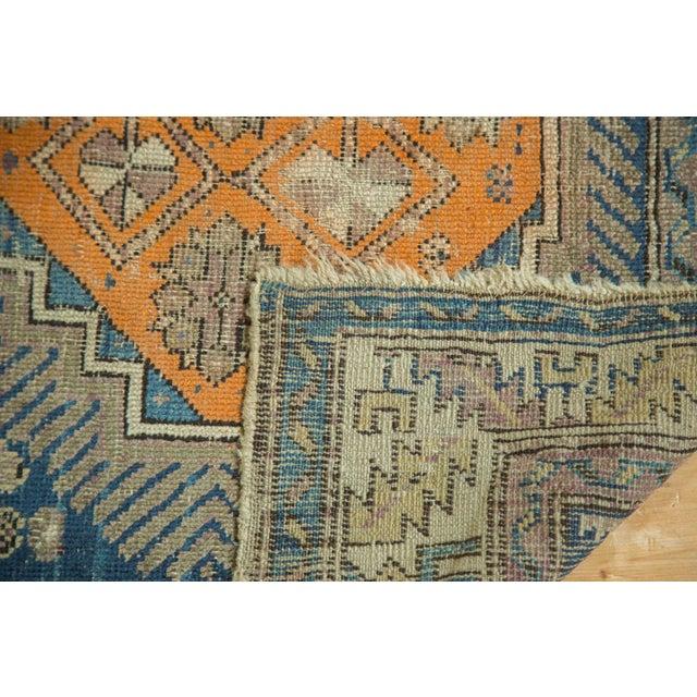 """Antique Caucasian Square Rug - 3'6"""" x 4'4"""" - Image 8 of 10"""