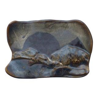 Abstract Studio Pottery Platter