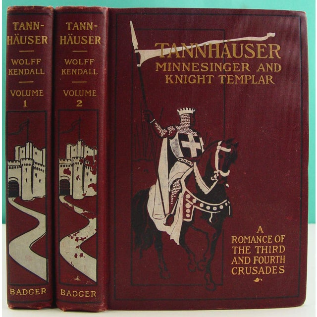 Tannhauser, Vols 1 and 2 - Image 2 of 5