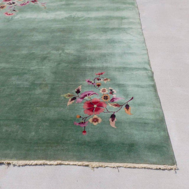 1940s Nichols Chinese Deco Art Deco Rug For Sale - Image 5 of 8