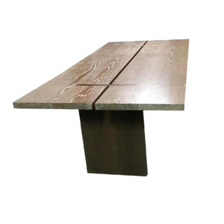 "Custom to Order ""Personalized Furniture"" Collection Dining Table For Sale"