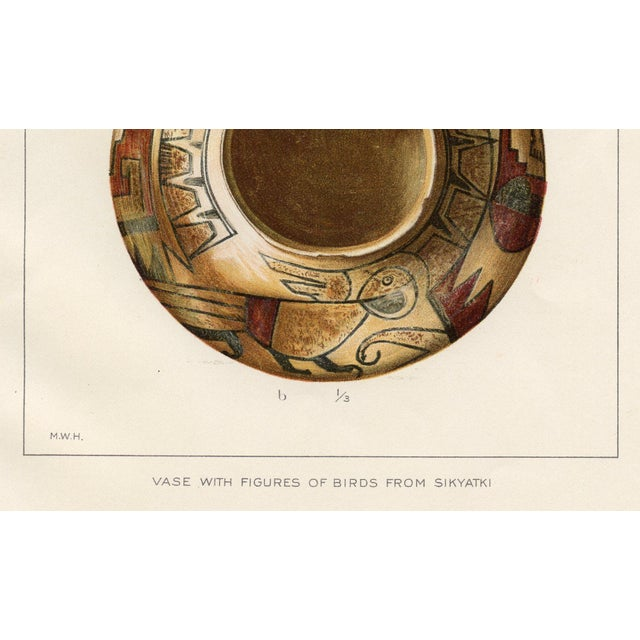 Native American Vase Prints - A Pair - Image 6 of 6