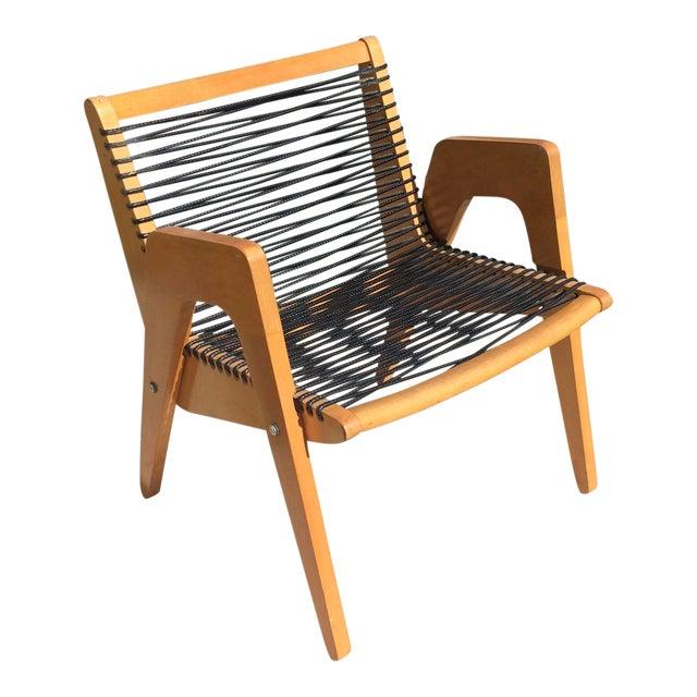 Vintage Robert Kayton Cord Chair For Sale